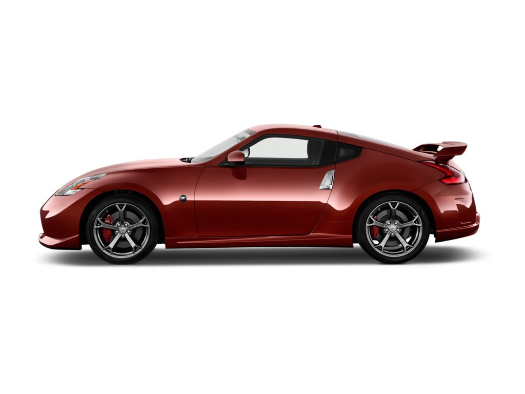 Image: 2013 Nissan 370Z 2-door Coupe Manual NISMO Side Exterior View ...