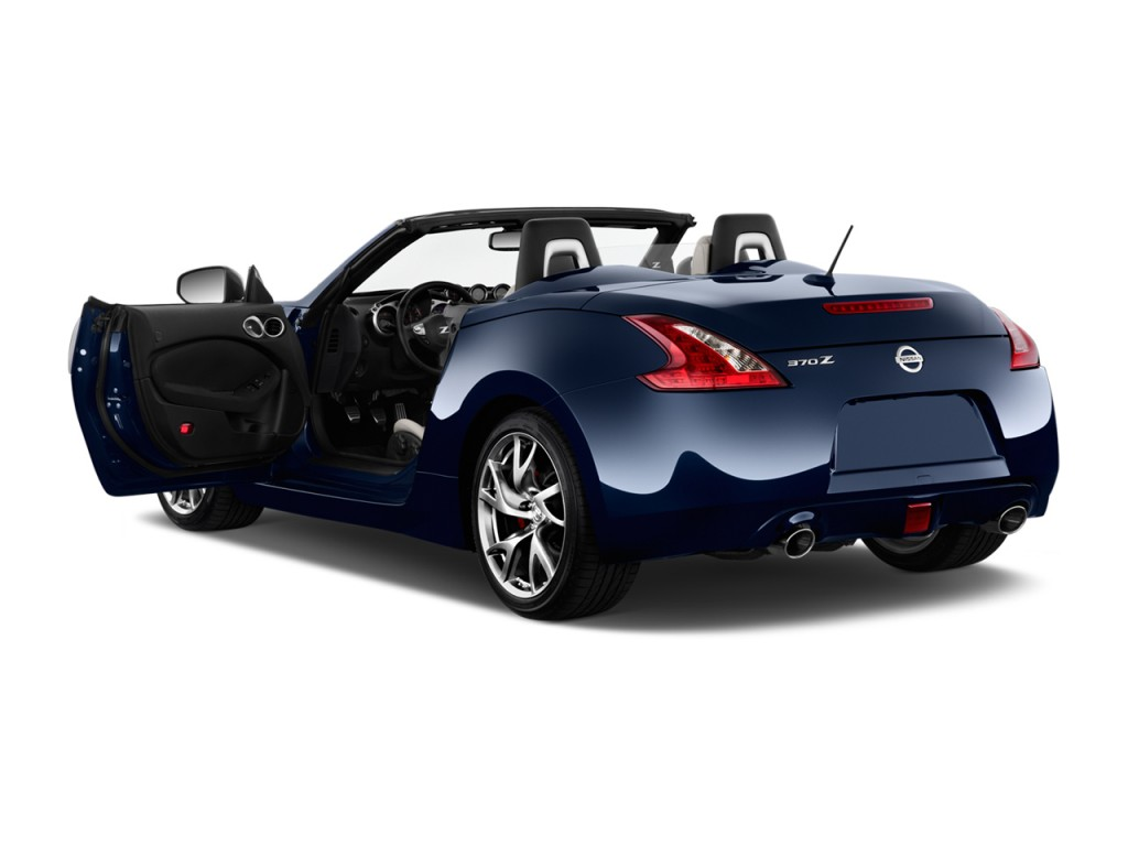 Image: 2013 Nissan 370Z 2-door Roadster Auto Open Doors ...
