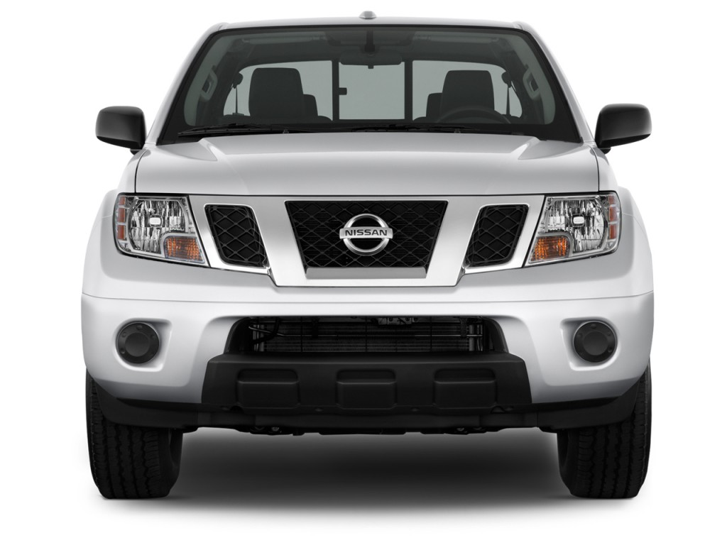 Image: 2013 Nissan Frontier 2WD King Cab I4 Auto SV Front ...