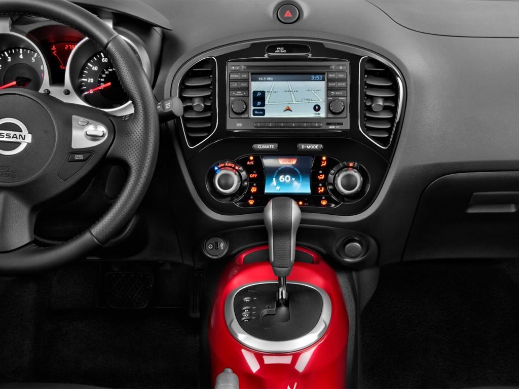Nissan Leaf Charging Stations >> Image: 2013 Nissan Juke 5dr Wagon CVT SV AWD Instrument ...