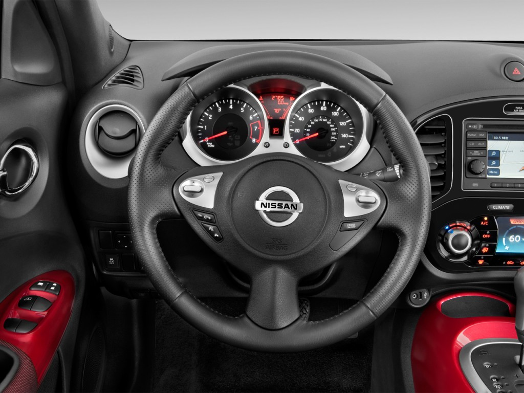 2013 Nissan Juke 5dr Wagon CVT SV AWD Steering Wheel