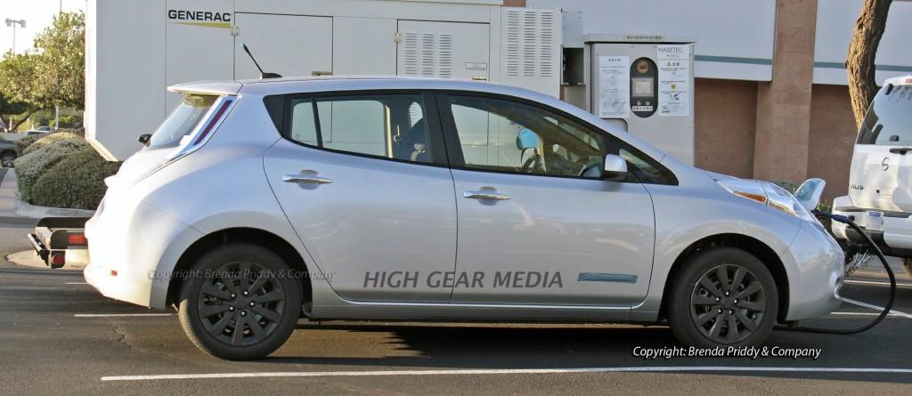 2013 Nissan Leaf Spy Shots