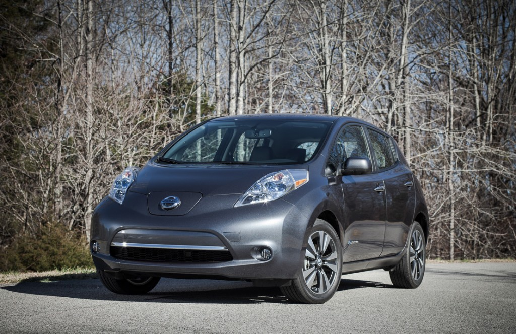 2013 Nissan Leaf Longer Range Faster Charging Leather Seats And