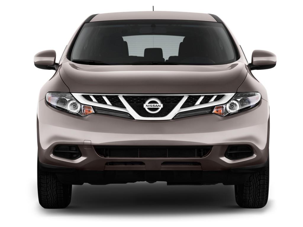 2013 Nissan Murano 2WD 4-door S Front Exterior View
