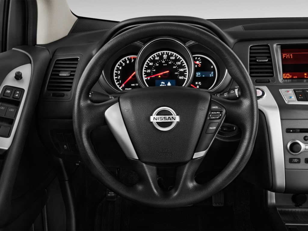 image 2013 nissan murano 2wd 4 door s steering wheel size 1024 x 768 type gif posted on. Black Bedroom Furniture Sets. Home Design Ideas