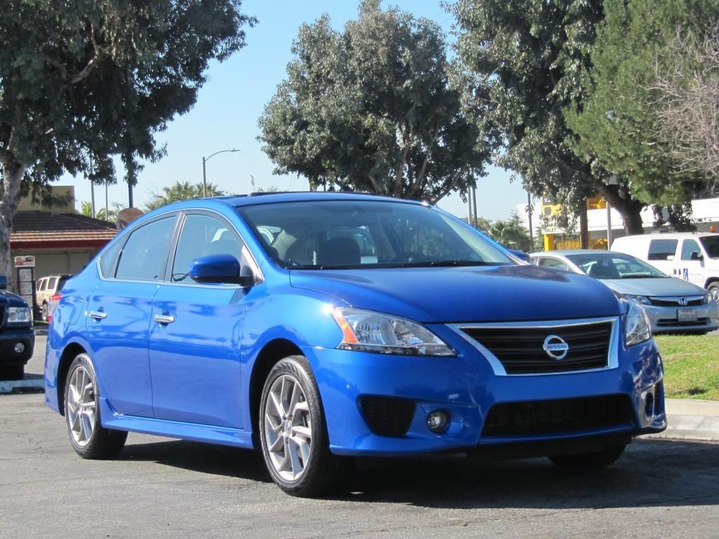2013 Nissan Sentra, short test drive, Los Angeles, Feb 2013
