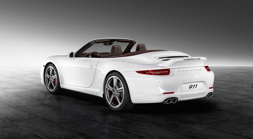 2013 Porsche 911 Carrera S Cabriolet equipped with Porsche Exclusive Aerokit