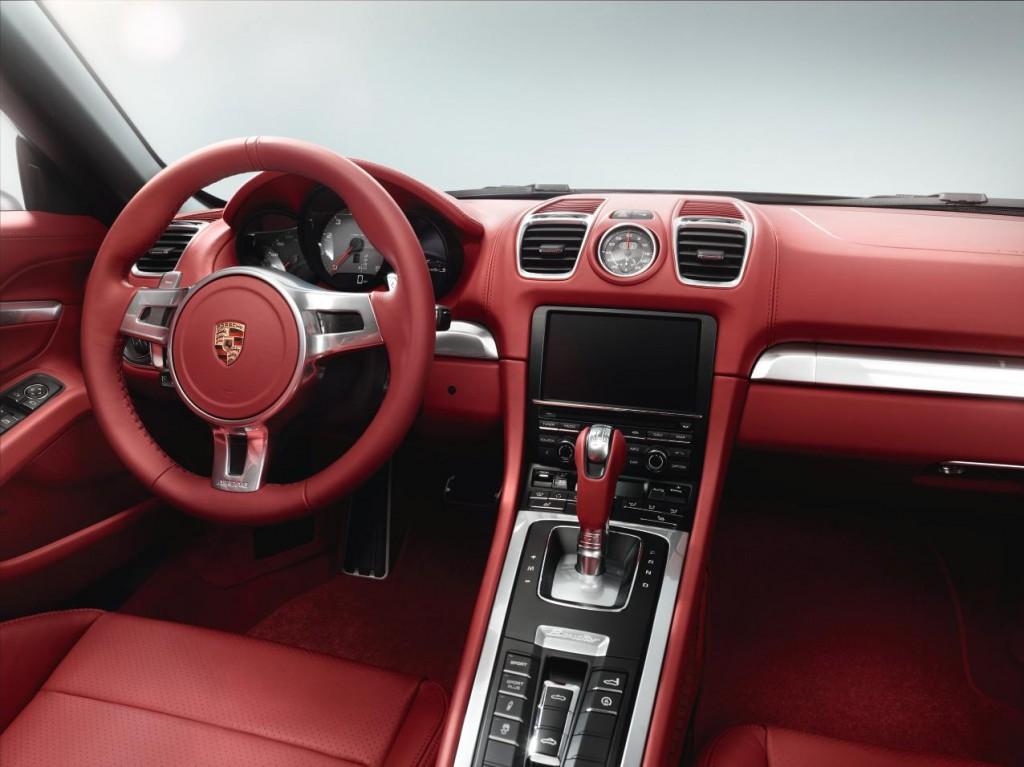 Amazing 2013 Porsche Boxster Interior