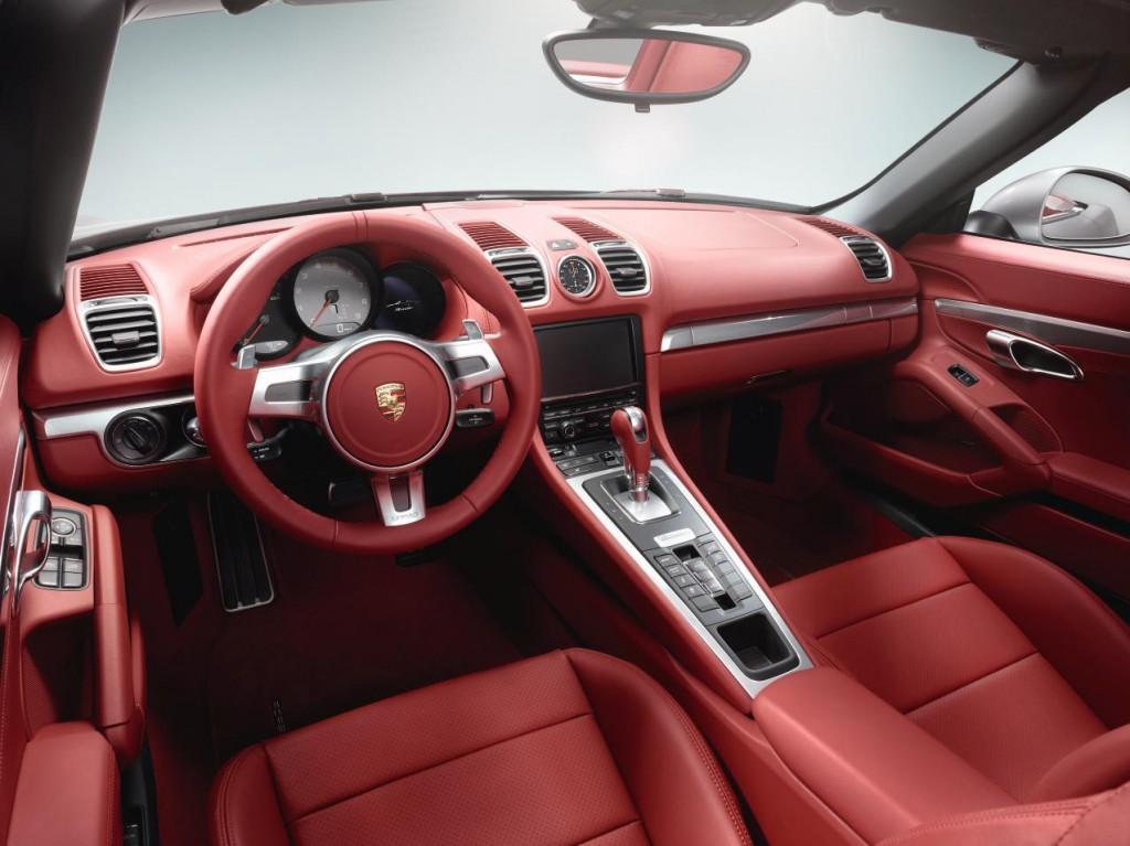 Charming 2013 Porsche Boxster Interior