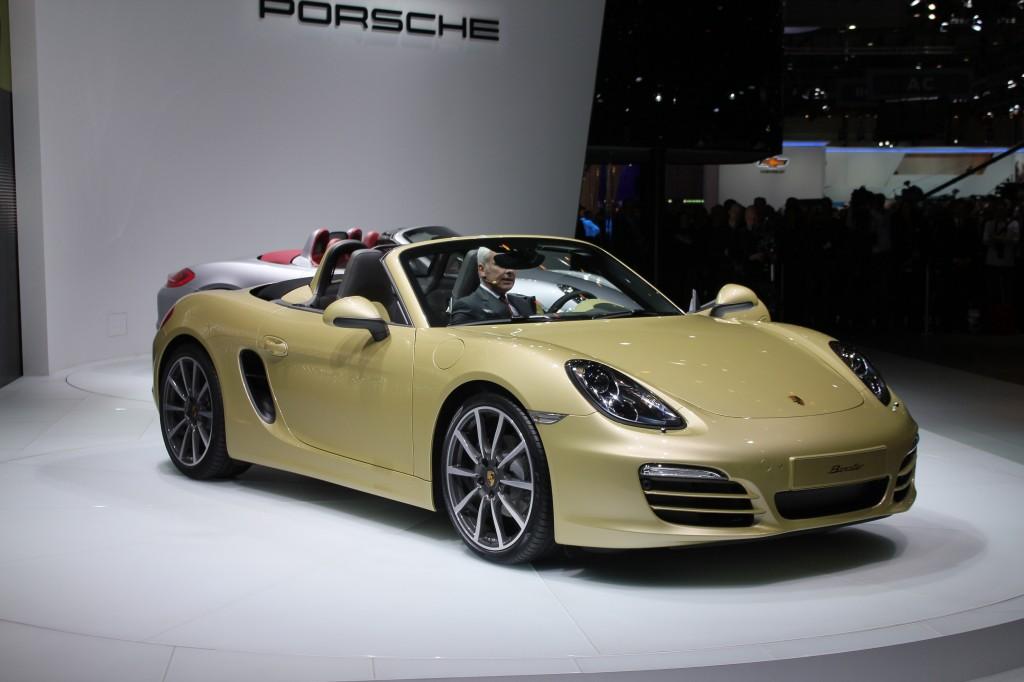 2013 Porsche Boxster: A Geneva Show Best-Of