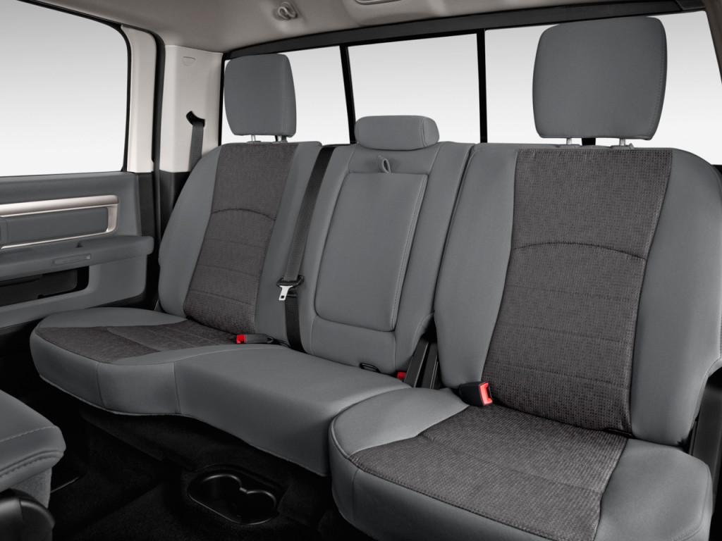 Ram Wd Crew Cab Big Horn Rear Seats L on Dodge Dakota Seats