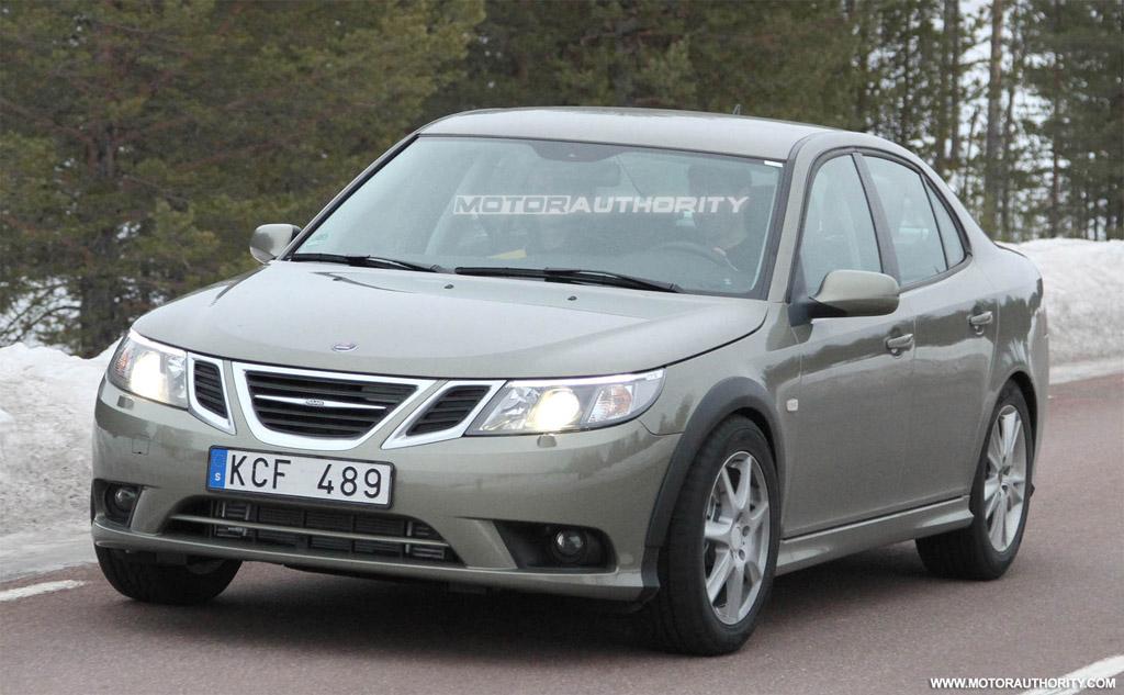 Geneva Auto Sales >> Spy Shots: 2013 Saab 9-3 Test-Mule