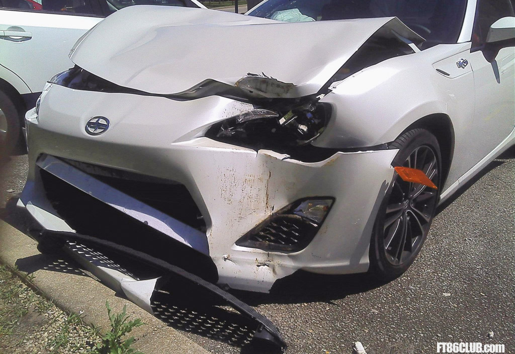 Has This Crash Resulted In The First Written Off Scion Fr S