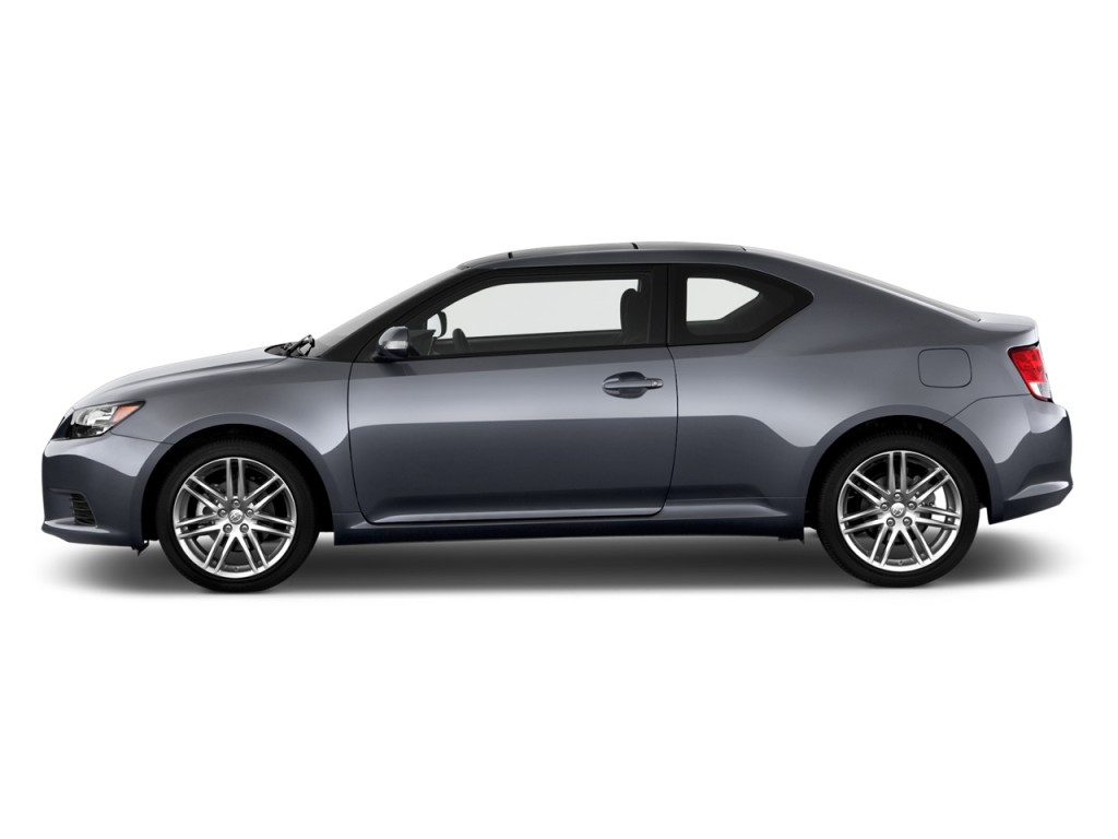 2013 Scion tC 2-door HB Man (Natl) Side Exterior View