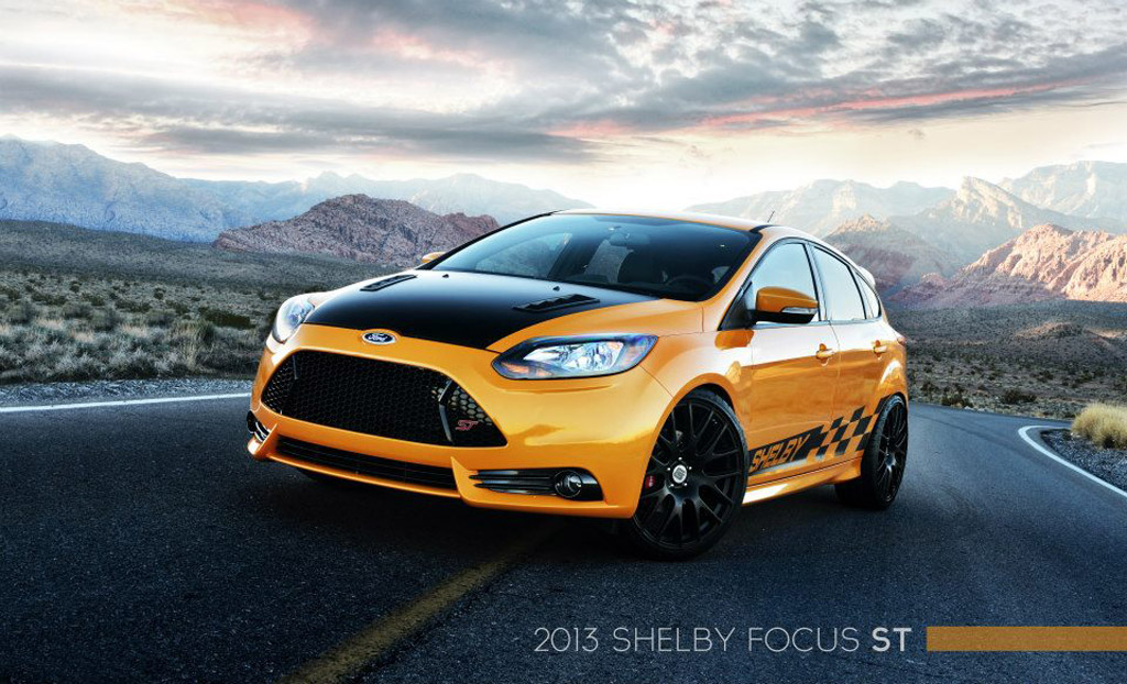 Shelby Goes Small With Custom Ford Focus St 2013 Detroit