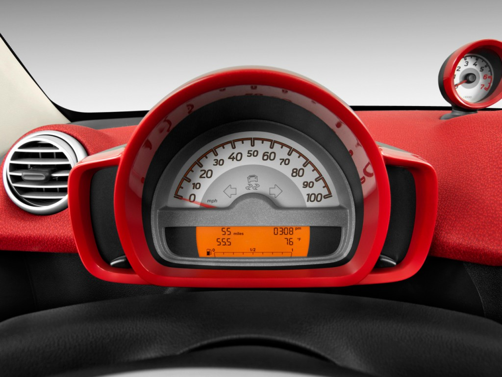 2013 Smart fortwo 2-door Cabriolet Passion Instrument Cluster