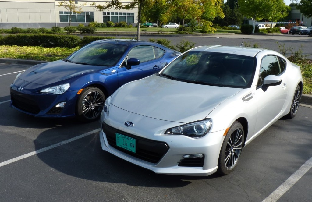 2013 Subaru BRZ and 2013 Scion FR-S