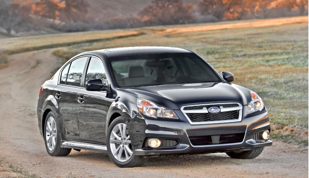 2013 Subaru Legacy Review Ratings Specs Prices And Photos The
