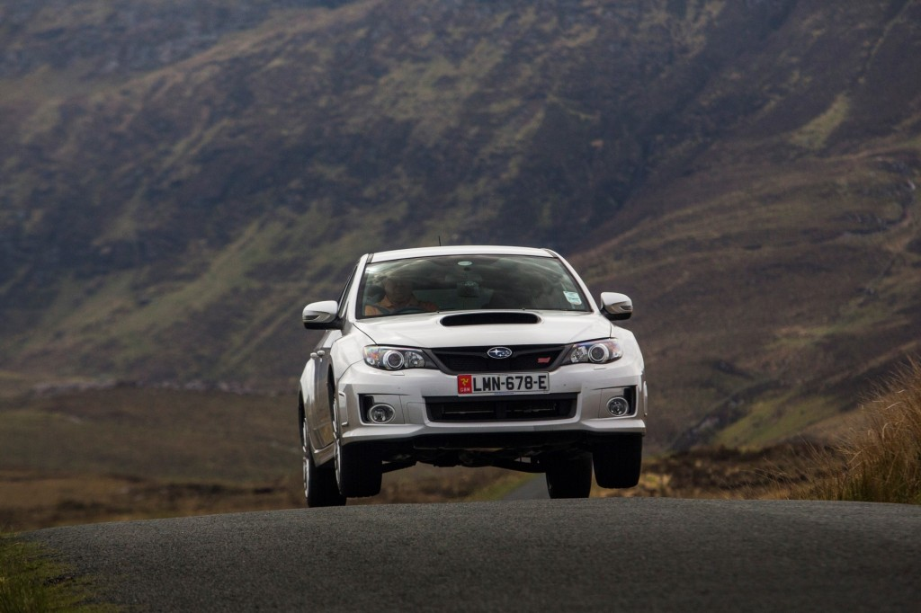 2013 Subaru WRX STI, Ireland and the Isle of Man, 2013