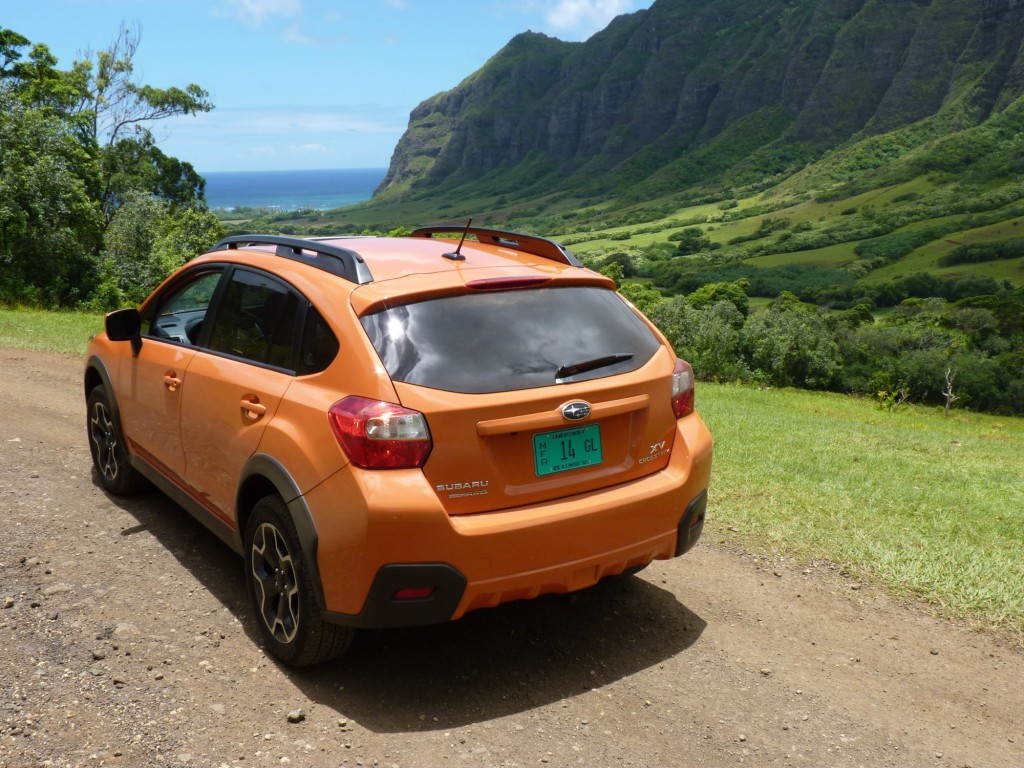 image 2013 subaru xv crosstrek first drive oahu july. Black Bedroom Furniture Sets. Home Design Ideas