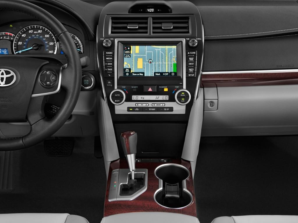 Image 2013 Toyota Camry 4 Door Sedan I4 Auto Xle Natl Instrument Panel Size 1024 X 768