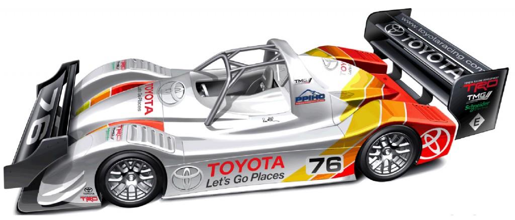 2013 Toyota EV P002 electric race car