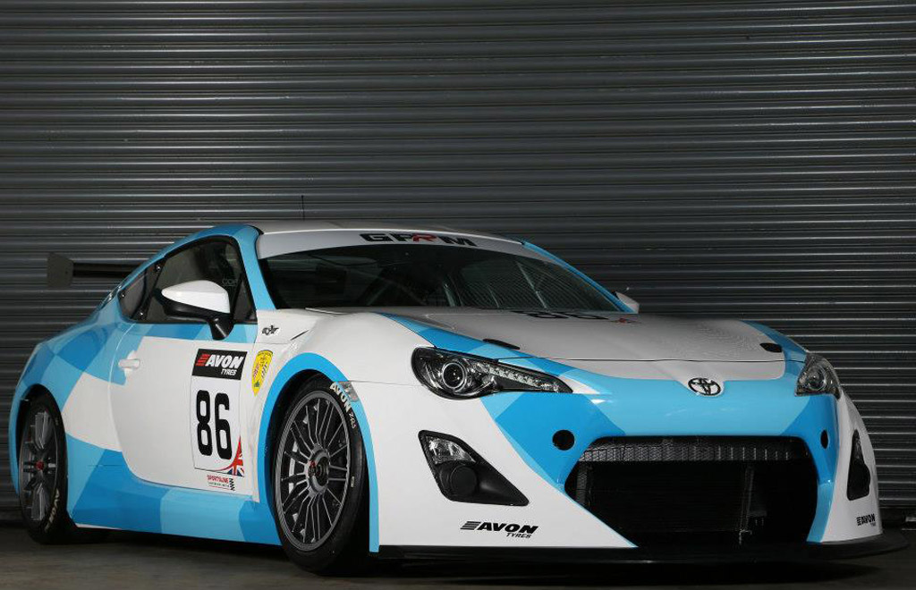 New Toyota GT 86 GT4 Race Car Revealed