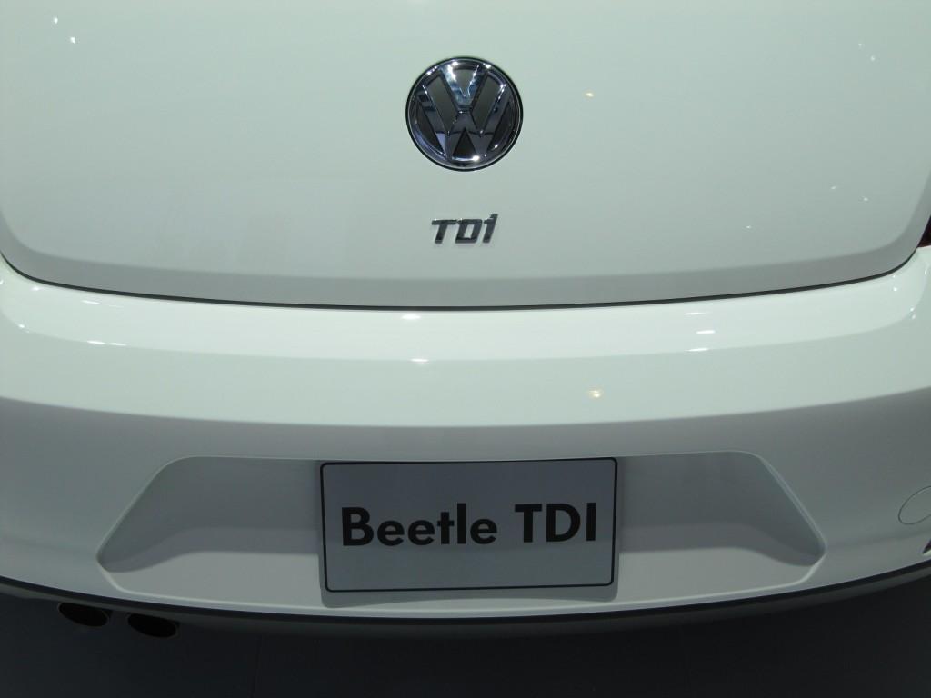2013 Volkswagen Beetle TDI, Chicago Auto Show, Feb 2012