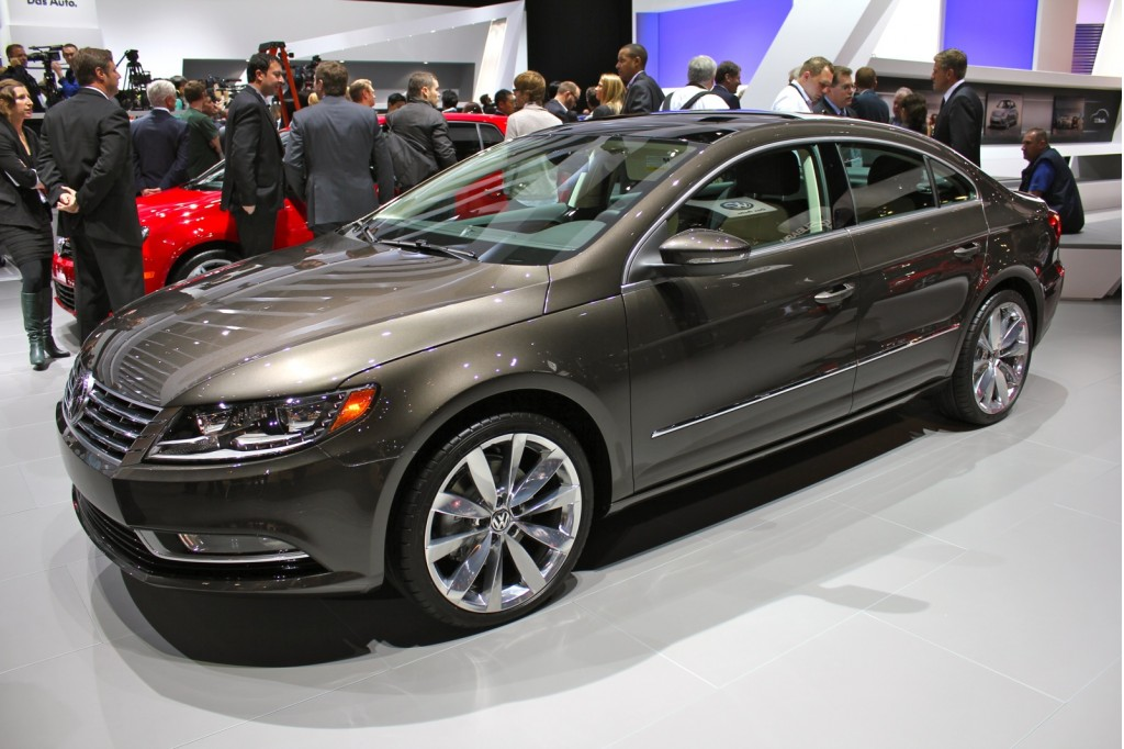 2013 Volkswagen CC: Mid-Size Luxury Sedan Debuts At 2011 Los Angeles Auto Show