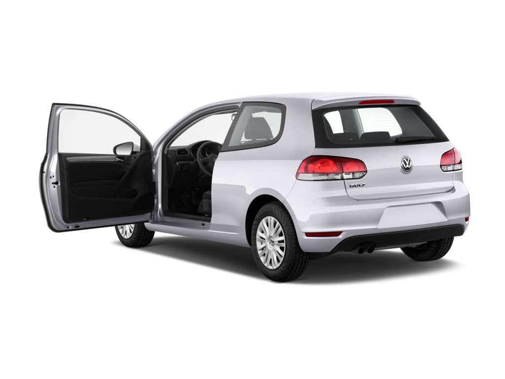 Image: 2013 Volkswagen Golf R 2-door HB Open Doors, size ...