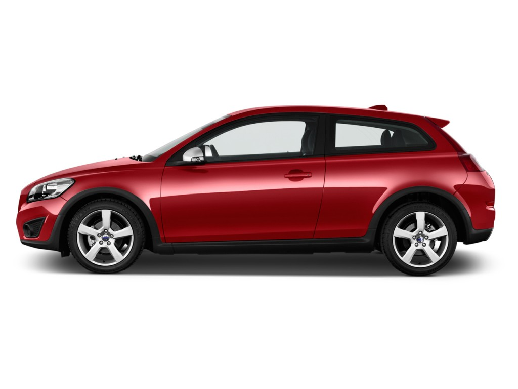 Image 2013 volvo c30 2 door coupe auto r design side for Exterior car design