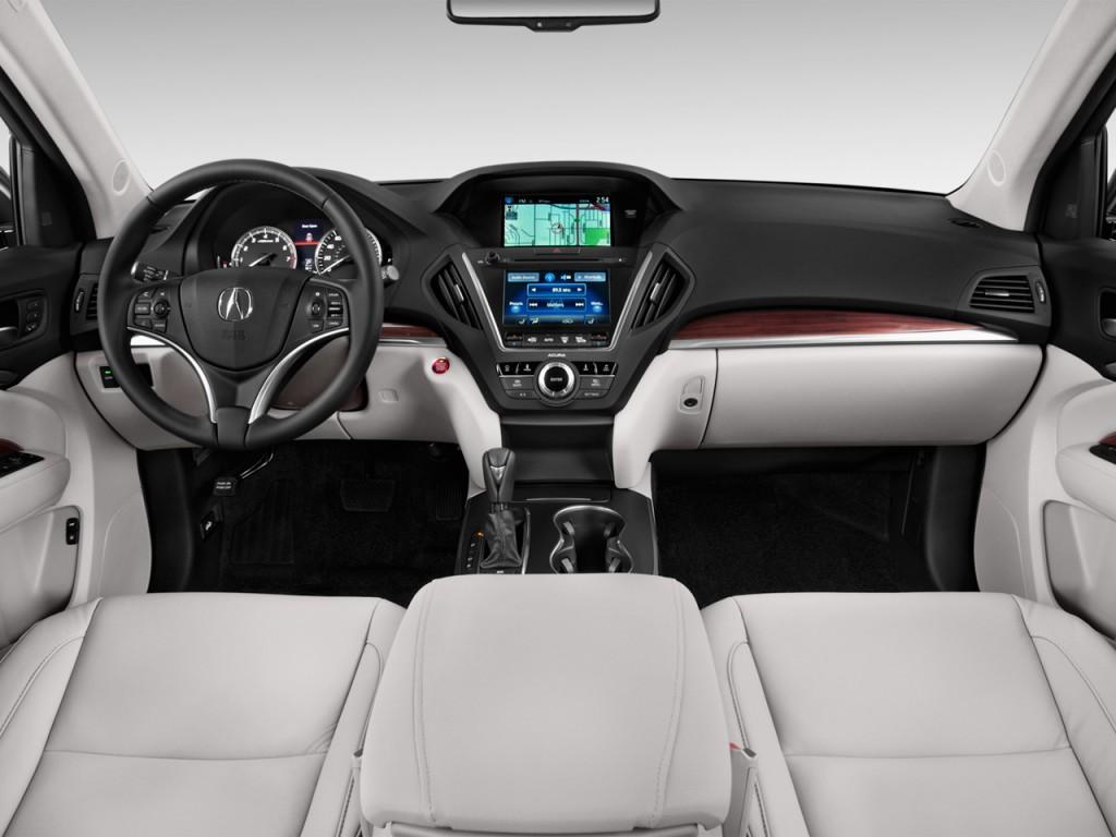 Image 2014 Acura Mdx Fwd 4 Door Tech Pkg Dashboard Size