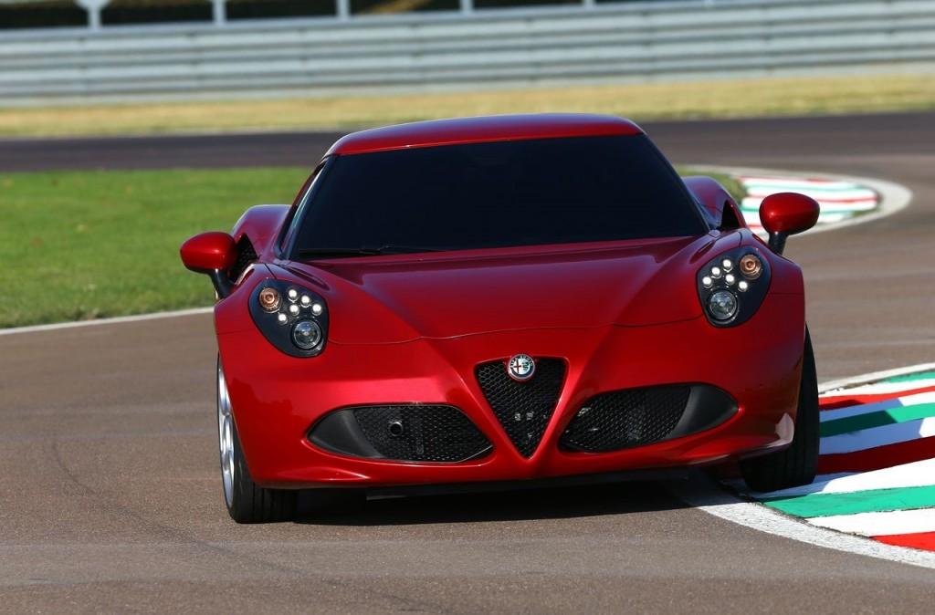 2014 Alfa Romeo 4C