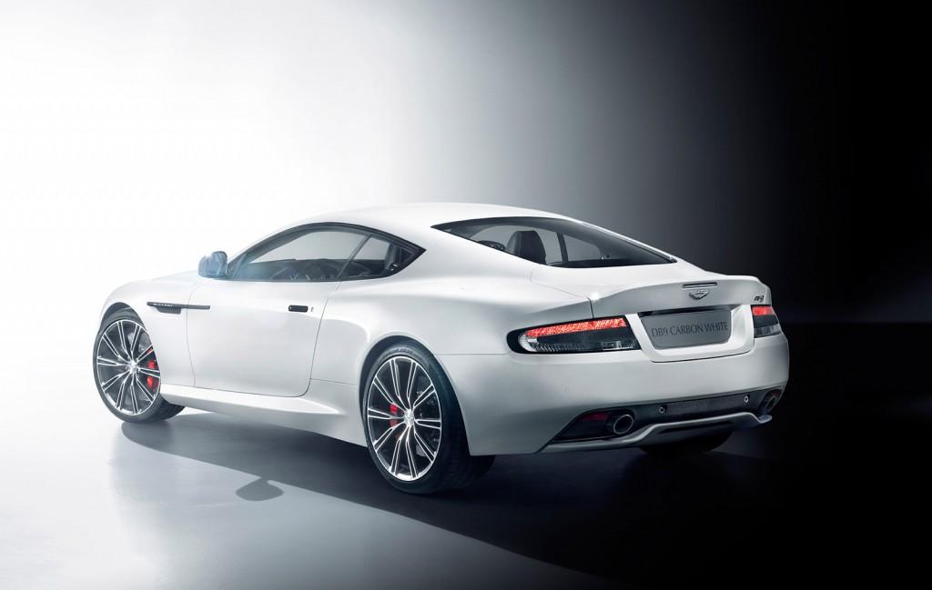 2015 Aston Martin DB9 Carbon White