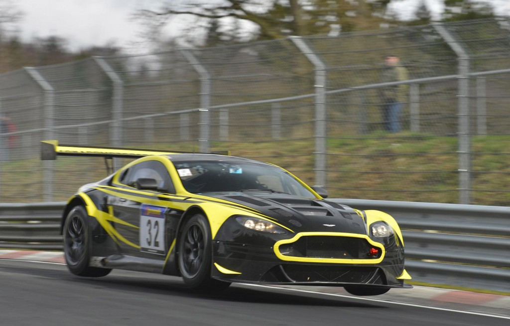 Aston Martin Prepares For 2014 Nurburgring 24 Hours