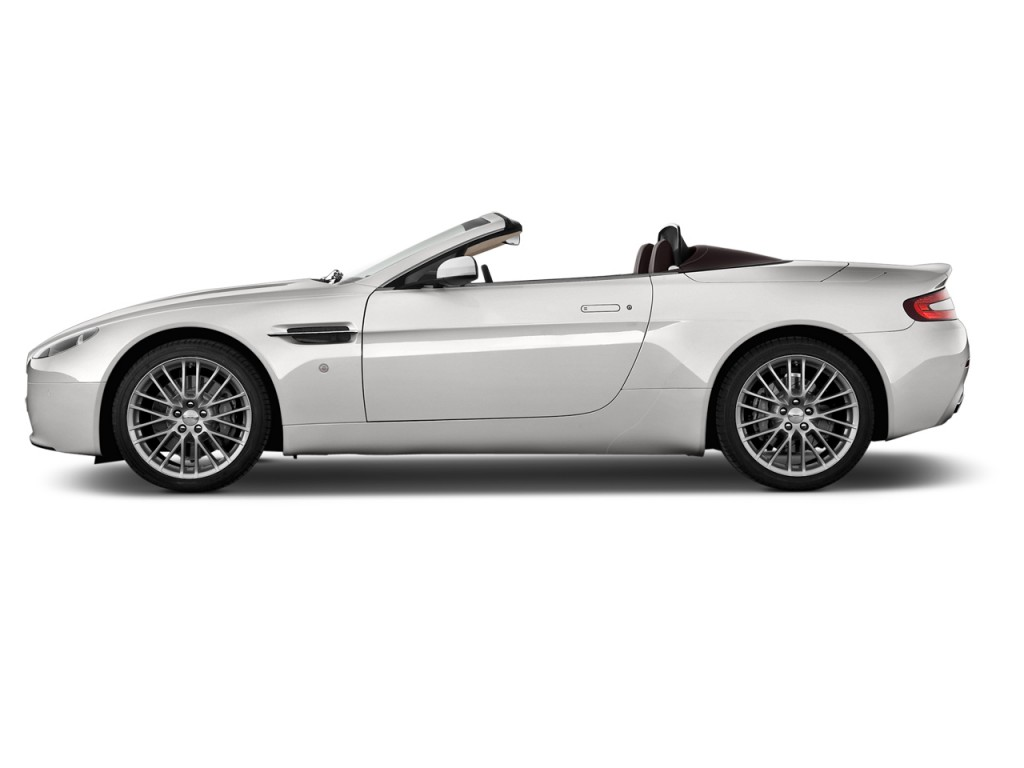 aston martin vantage 2018 side view. 2014 Aston Martin V8 Vantage 2-door Convertible Side Exterior View 2018 N