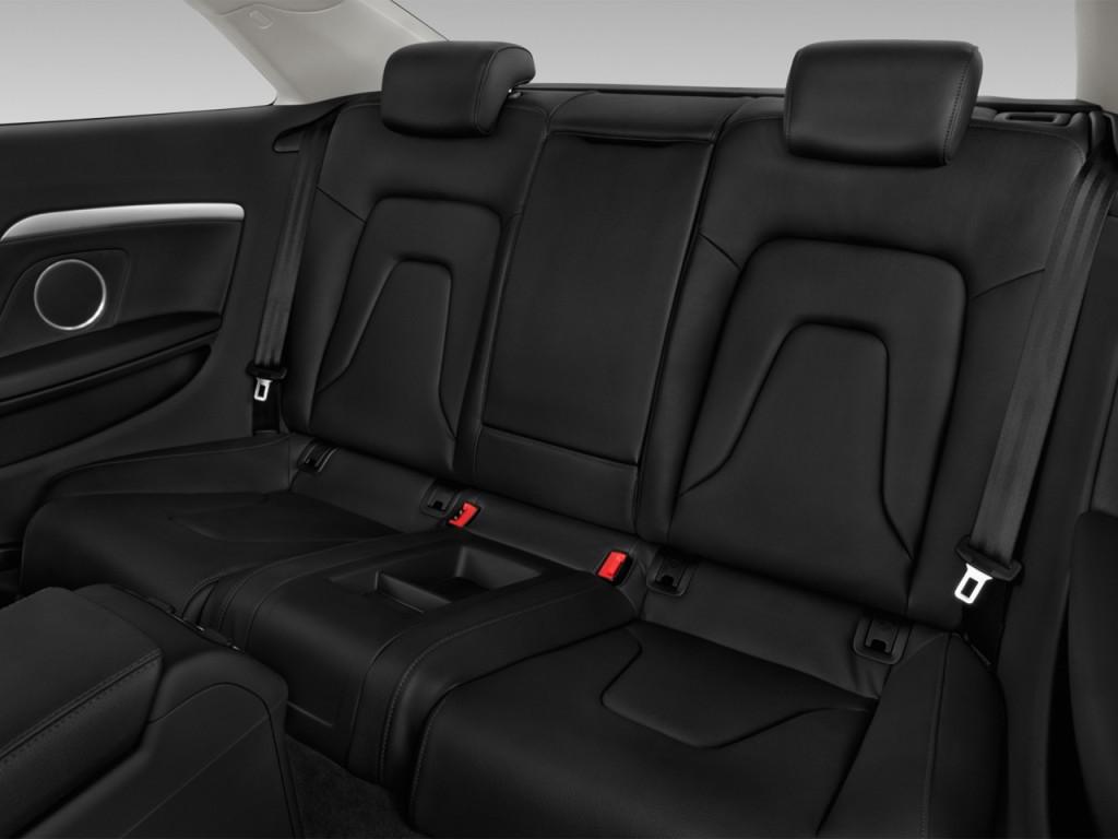 image 2014 audi a5 2 door coupe auto quattro 2 0t premium rear seats size 1024 x 768 type. Black Bedroom Furniture Sets. Home Design Ideas