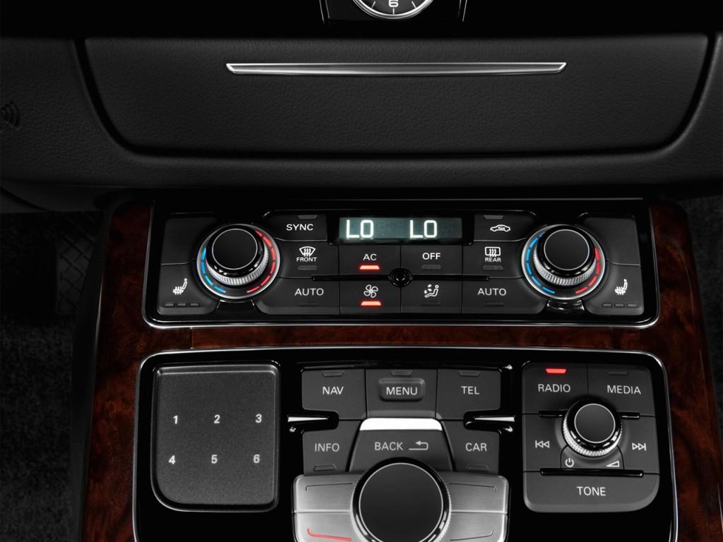 image 2014 audi a8 l 4 door sedan 4 0l temperature controls size 1024 x 768 type gif. Black Bedroom Furniture Sets. Home Design Ideas