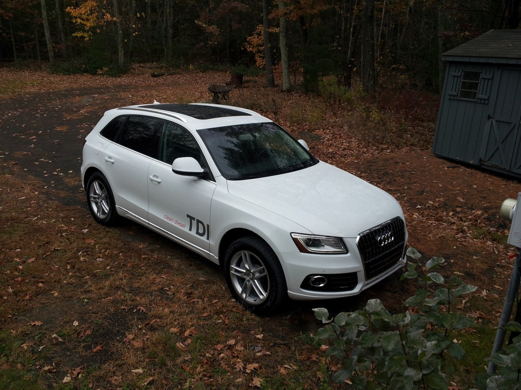 2014 Audi Q5 TDI, Catskill Mountains, Oct 2013