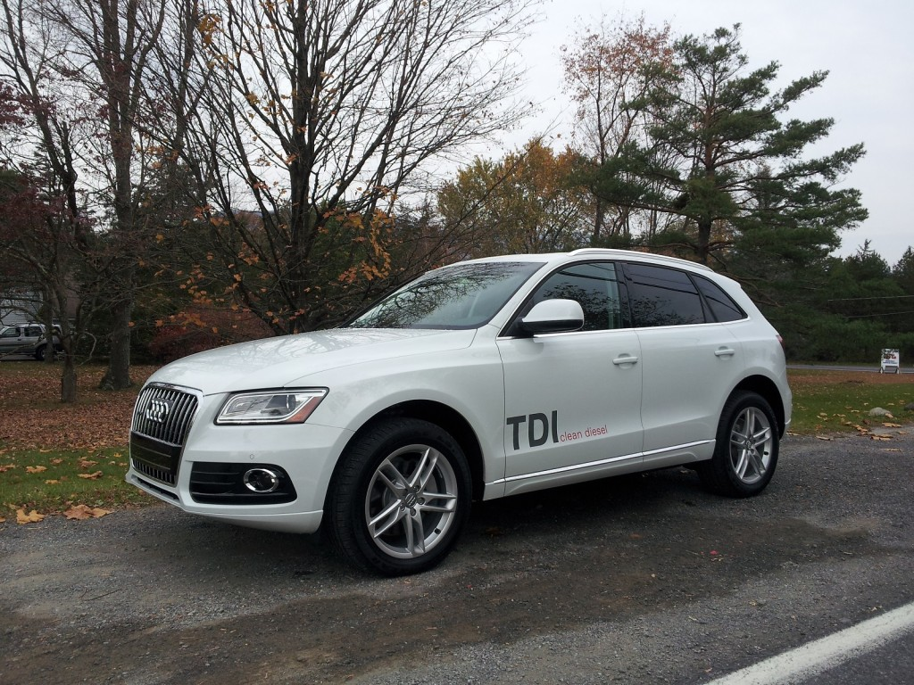 2014 Audi Q5 TDI Diesel Crossover Fuel Economy Test