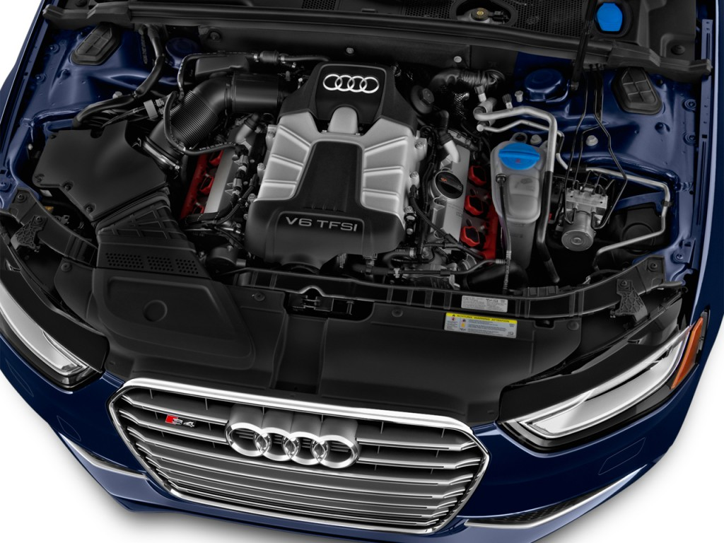 Image: 2014 Audi S4 4-door Sedan Man Premium Plus Engine ...