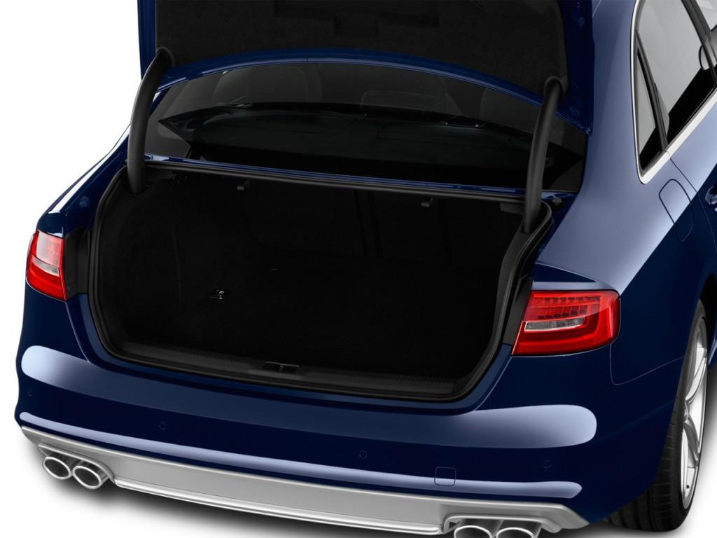 Image: 2014 Audi S4 4-door Sedan Man Premium Plus Trunk ...