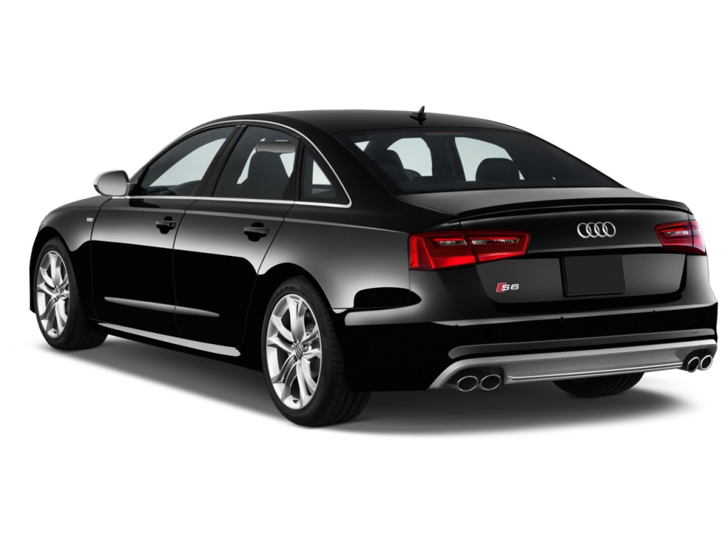 Image 2014 audi s6 4 door sedan prestige angular rear for Rear exterior door