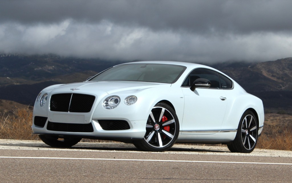 2014 Bentley Continental GT V8 S: First Drive