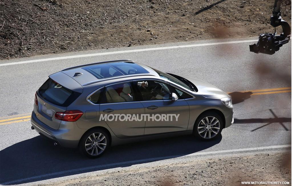 2014 BMW 2-Series Active Tourer spy shots