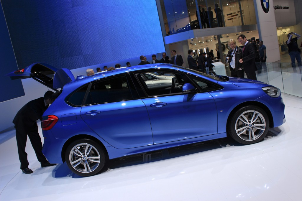 BMW 2-Series Active Tourer, 2014 Geneva Motor Show
