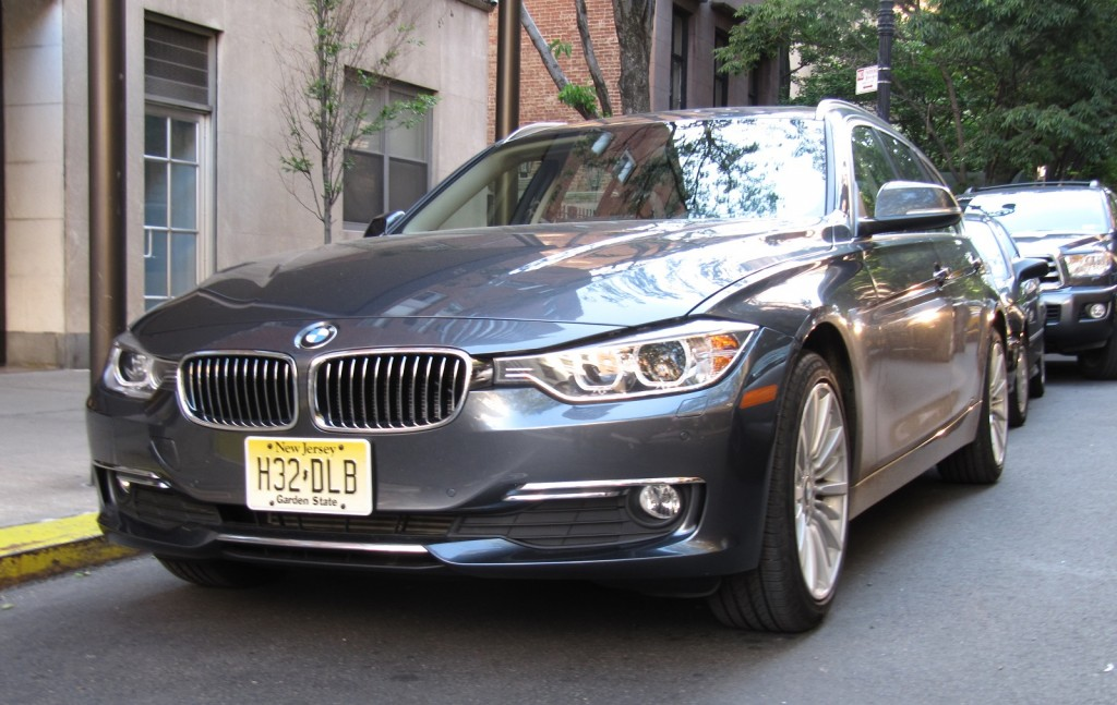 2014 BMW 328d xDrive Sport Wagon, New York City, Jun 2014