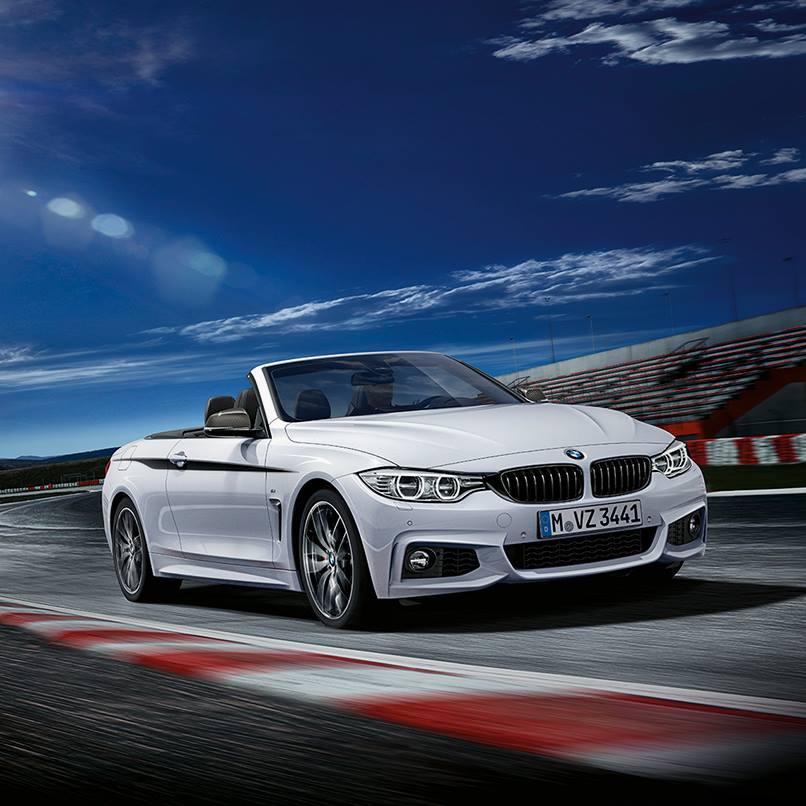 Bmw 4: BMW 4-Series Convertible To Get M Performance Parts
