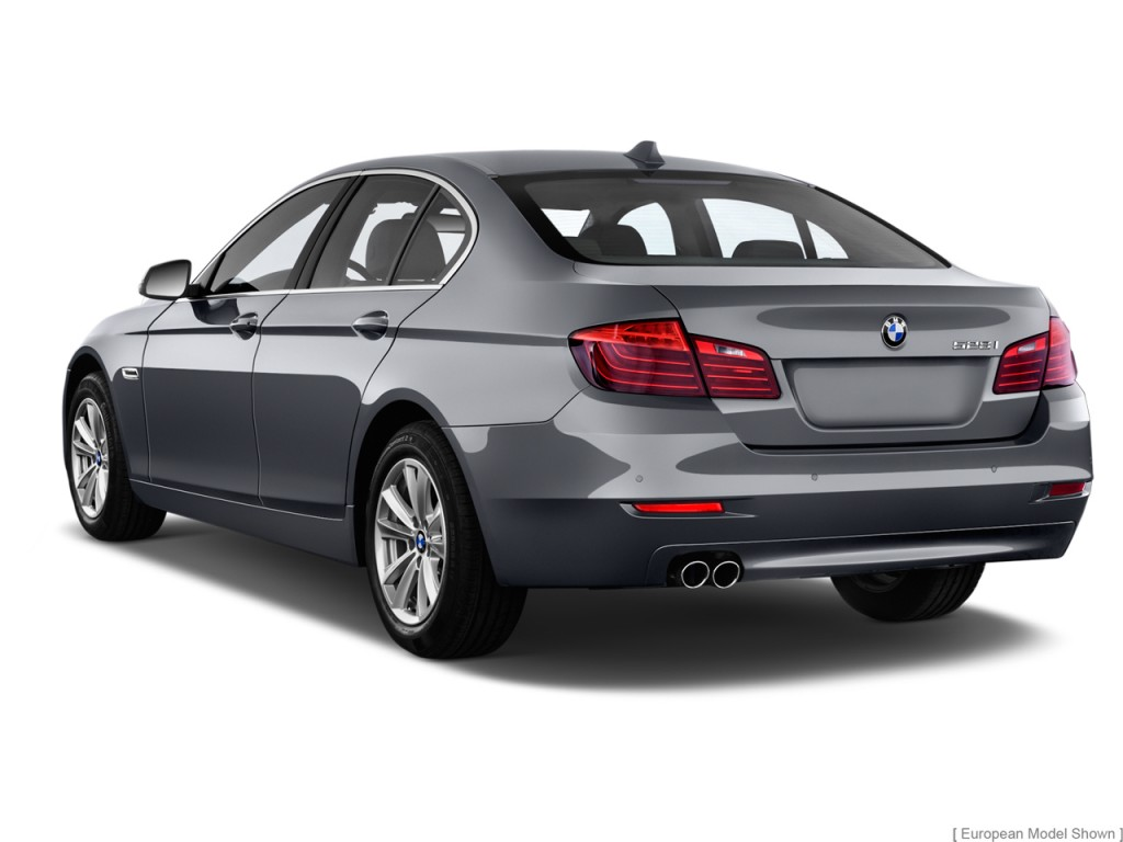 Image 2014 Bmw 5 Series 4 Door Sedan 528i Rwd Angular