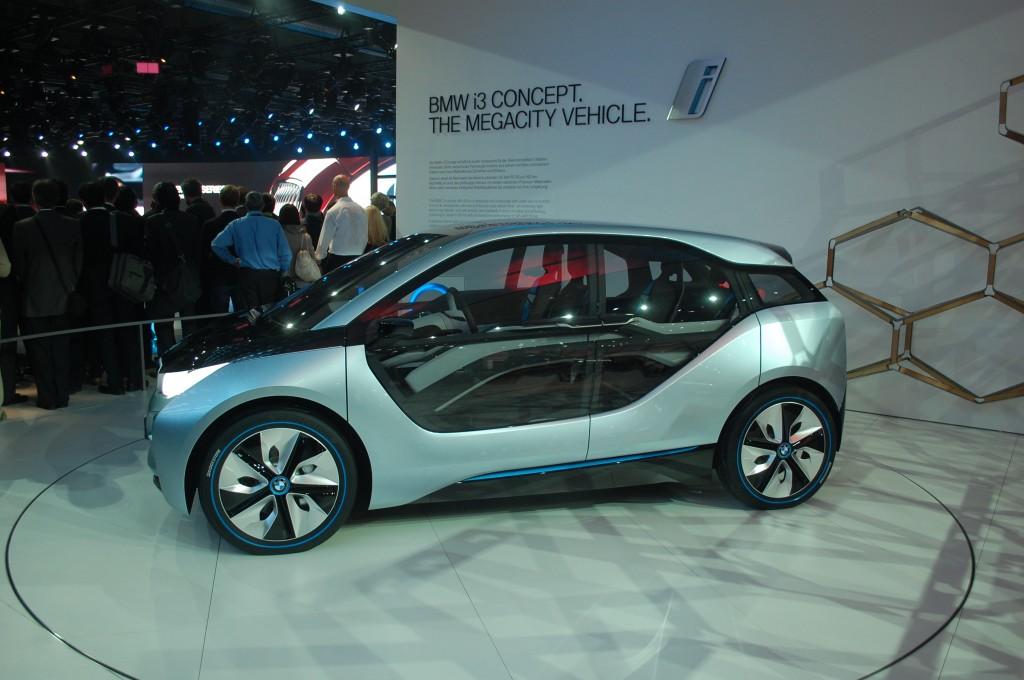 2014 BMW i3 concept live photos, 2011 Frankfurt Auto Show